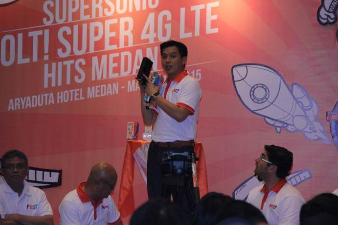 Larry Ridwan, Chief Commercial Officer BOLT! Super 4G LTE